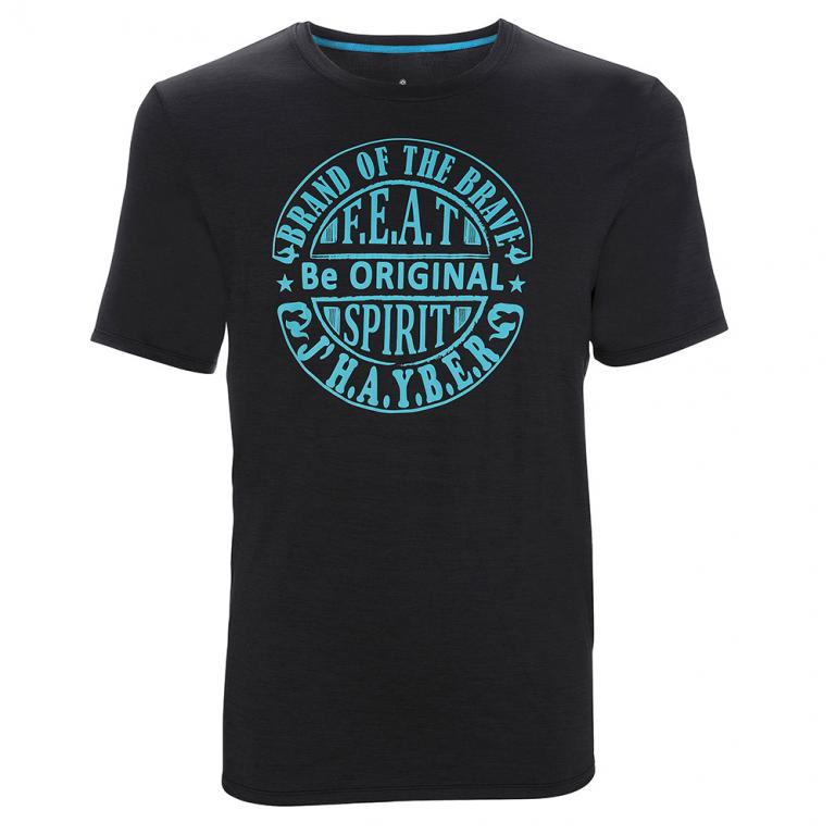 Camisetas Hombre Da3203 Black Melange