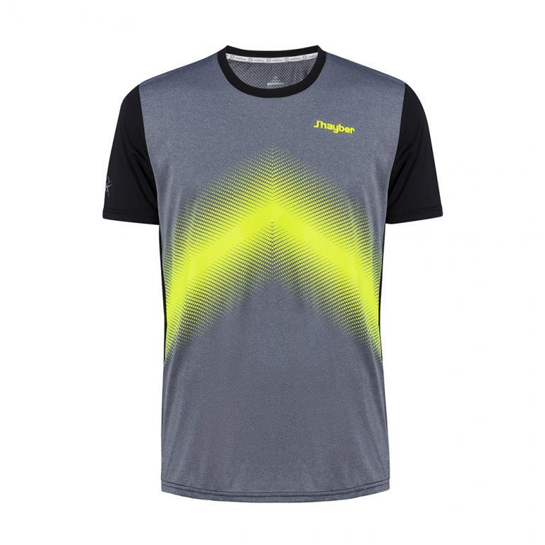 Camiseta Hombre Da3208 Grey Melange