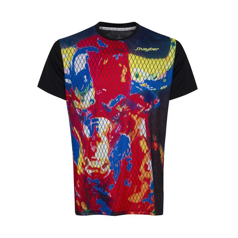 DA3215-200 Camiseta Deportiva LA BESTIA Negro