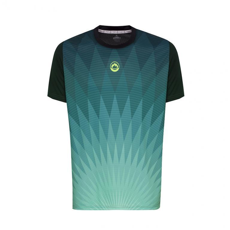 DA3216-600 Camiseta Deportiva CHRYSLER Verde