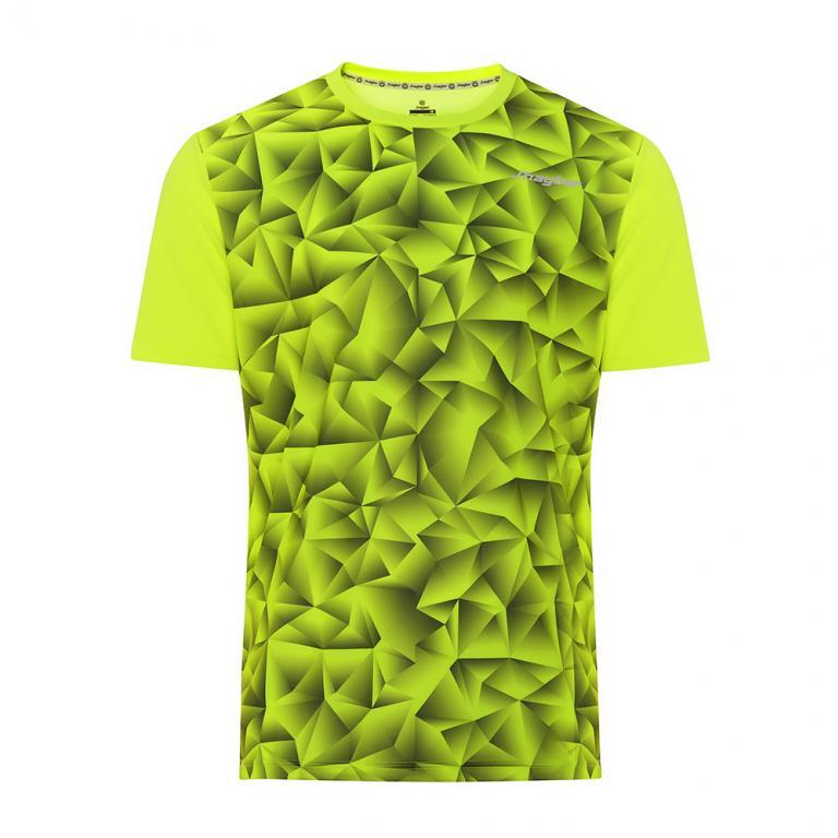 DA3220-600 Camiseta Deportiva GEM Amarilla