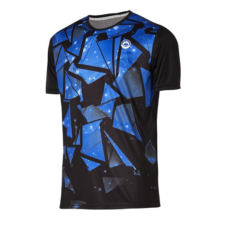DA3229-203 Camiseta deportiva Impact negra y azul
