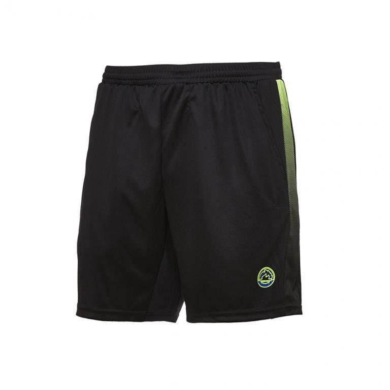 DA4381-206 Pantalón corto Easy negro y verde