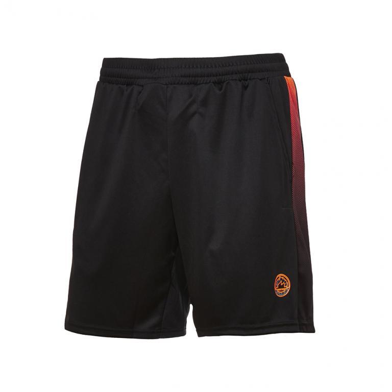 DA4381-209 Pantalón corto Easy negro y naranja