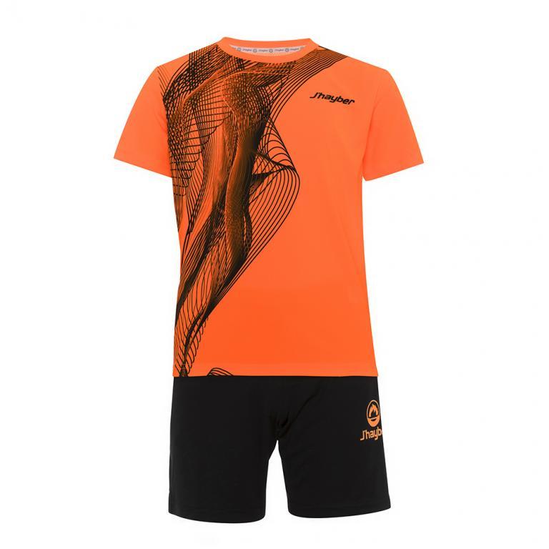 DN23027-900 Conjunto deportivo Niño Dn23027 Naranja
