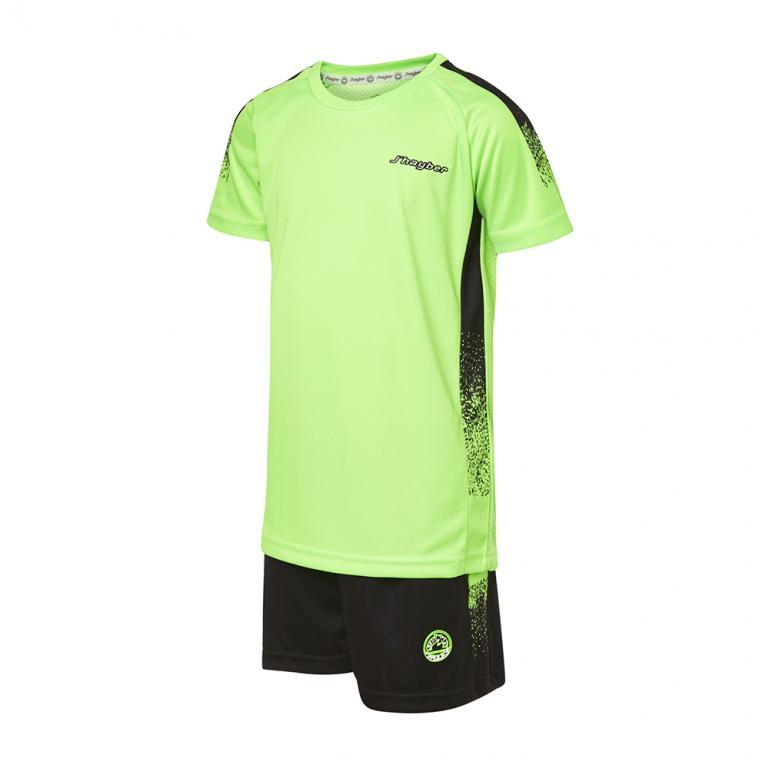 DN23029-600 Conjunto deportivo niño easy verde