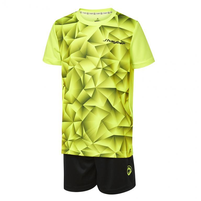 DN23030-700 Conjunto deportivo niño gem amarillo