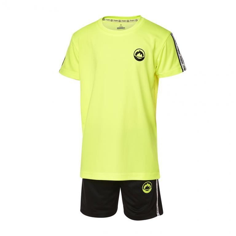 DN23033-700 Conjunto deportivo niño band amarillo