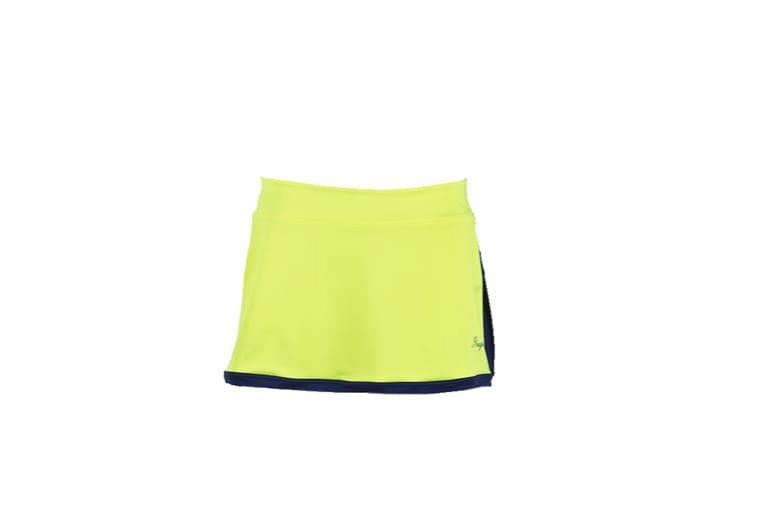 Faldas Mujer Open Azul-amarillo