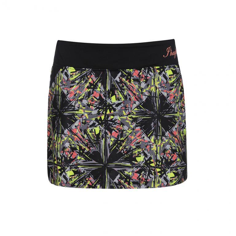 Faldas Mujer Ds12204 Black Print