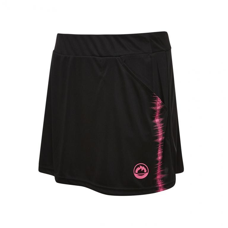 DS12211-200 Falda deportiva frecuencia mujer negro