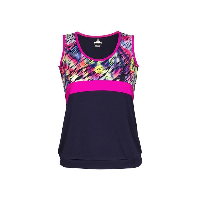 DS3196-308 Camiseta mujer Ds3196 print marino rosa