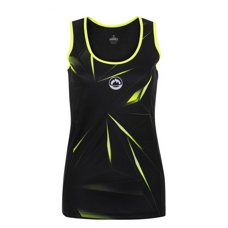 DS3197-200 Camiseta Deportiva GLASS Mujer Negro