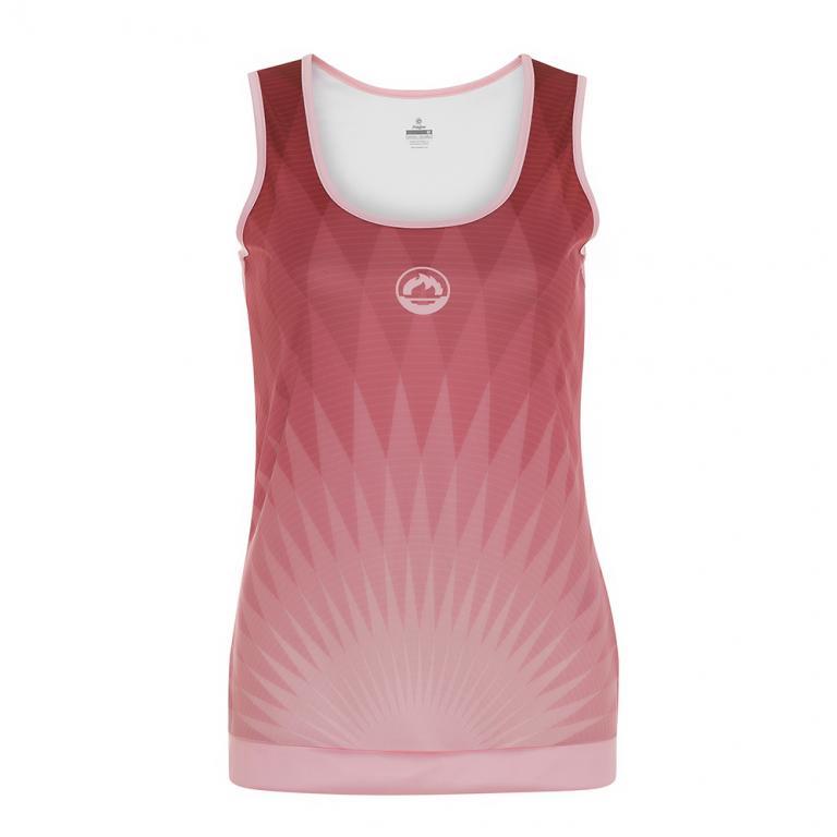 DS3198-800 Camiseta Deportiva CHRYSLER Mujer Rosa