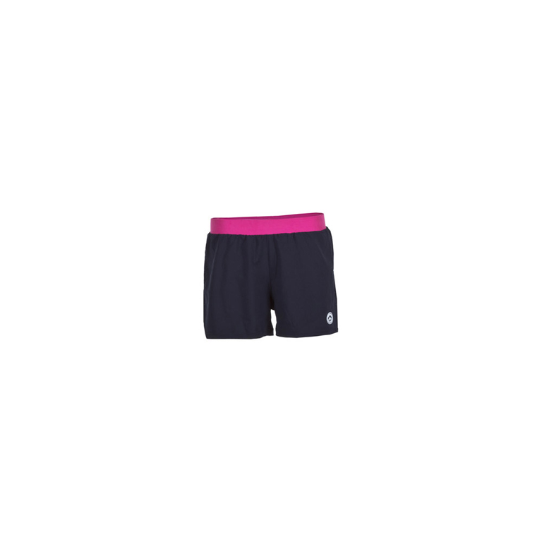 Pantalones Mujer Ran negro-fucsia