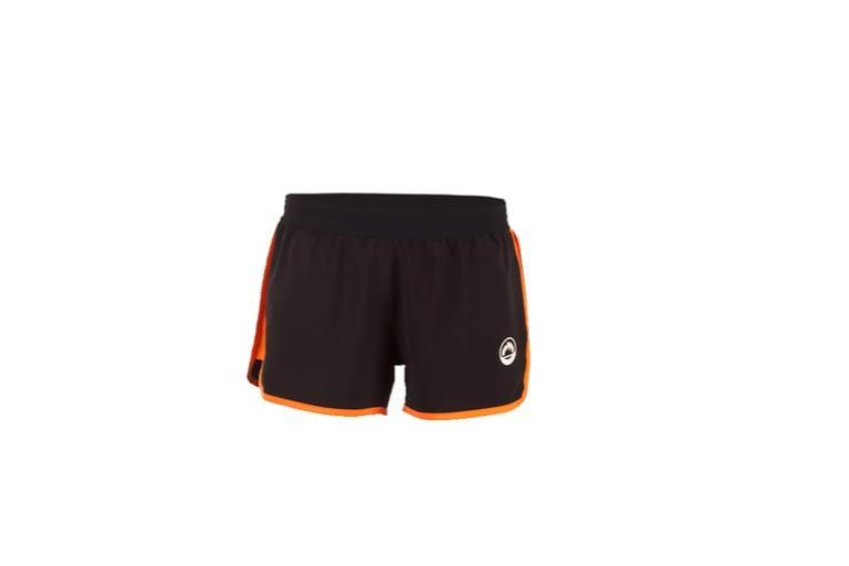 Pantalones Cortos Mujer Fusion Negro-naranja