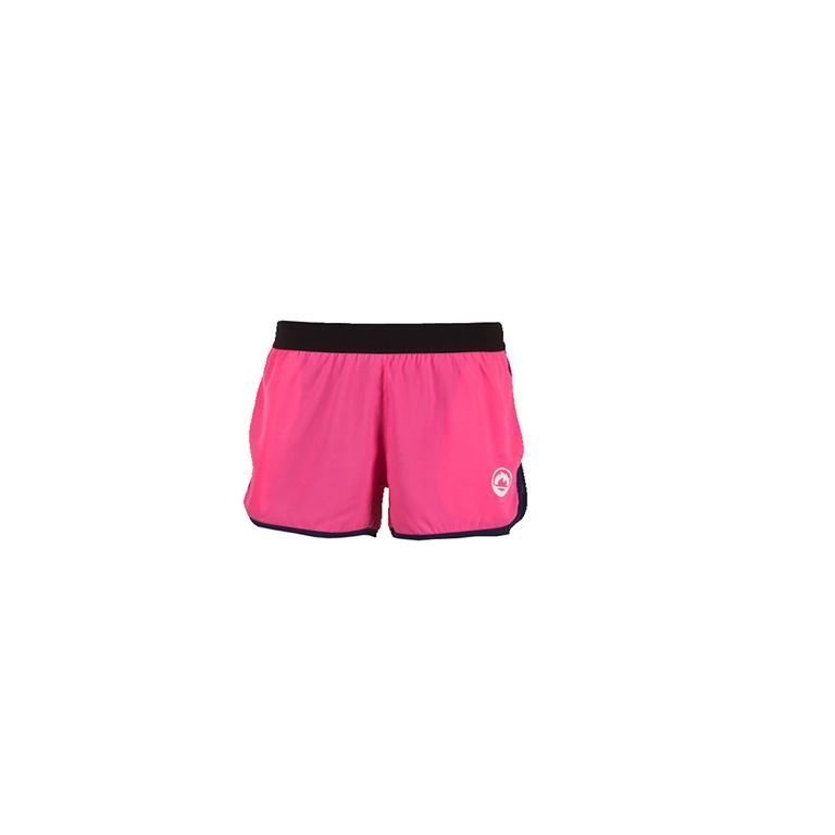 Pantalones cortos Mujer Fusion rosa-negro
