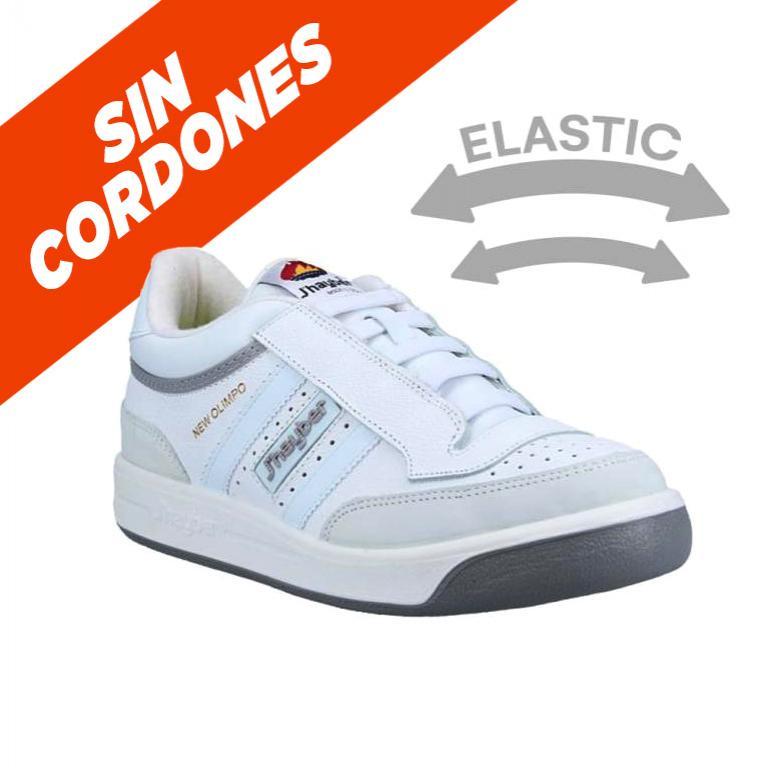 66000-101 Zapatillas J'hayber Elástico blanco-gris
