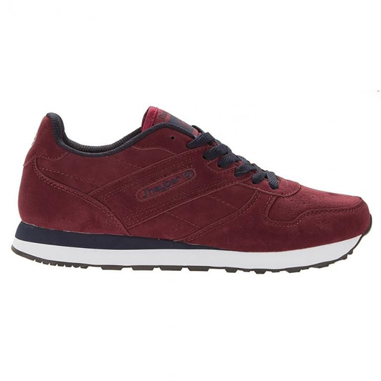 Casual Hombre Chapina Burgundy