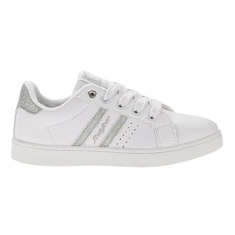 Classic Junior Chilina White-silver