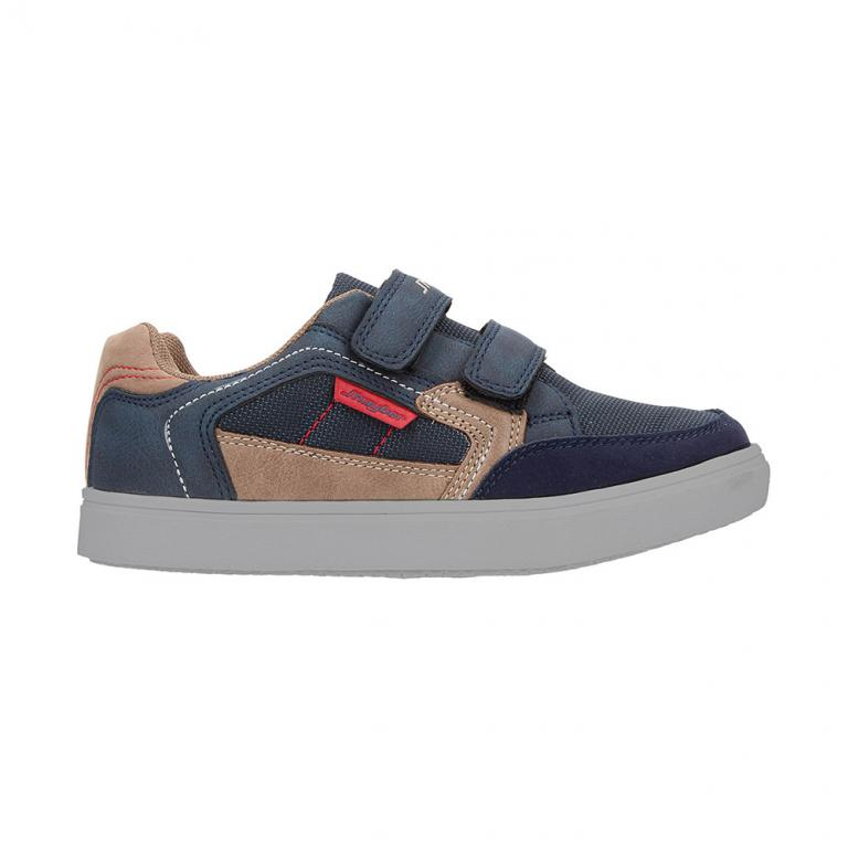 Casual Junior Chinala Navy Piso Gris