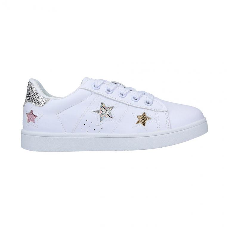 Casual Junior Chimara White - Silver