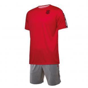 DA23023-400 Conjunto deportivo hombre pop 72 rojo