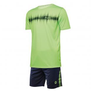 DA23024-600 Conjunto deportivo hombre frecuencia verde