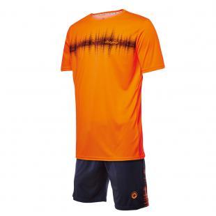 DA23024-900 Conjunto deportivo hombre frecuencia naranja