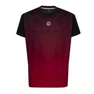 DA3216-204 Camiseta Deportiva CHRYSLER Negro-Rojo