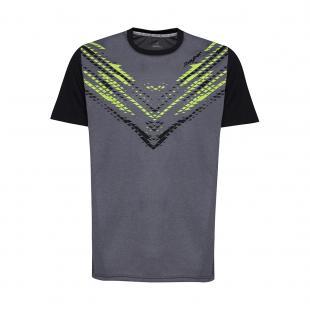 DA3217-200 Camiseta Deportiva WILD Negro-Gris