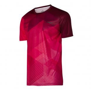 DA3226-400 Camiseta Deportiva Line Roja