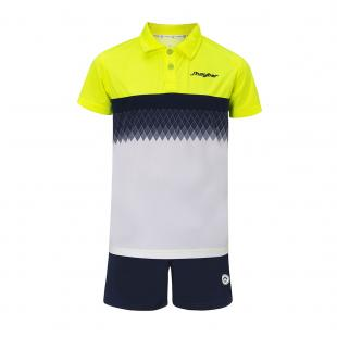 Conjuntos Junior Dn23017 White - Yellow