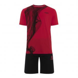 DN23027-400 Conjunto deportivo Niño Dn23027 Rojo
