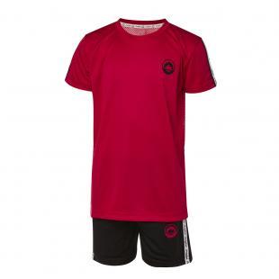 DN23033-400 Conjunto deportivo niño brand rojo