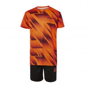 DN23036-900 Conjunto deportivo niño racing naranja