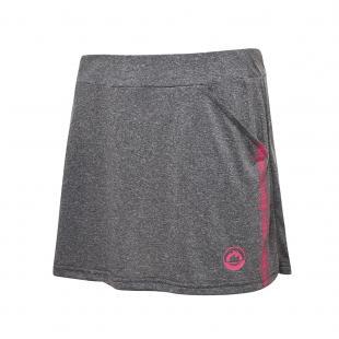 DS12211-28 Falda deportiva frecuencia mujer gris