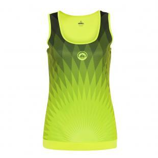 DS3198-600 Camiseta Deportiva CHRYSLER Mujer Amarillo