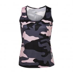 DS3202-28 Camiseta deportiva brand mujer gris