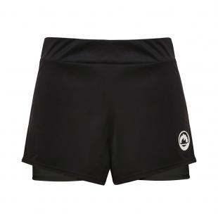 DS4374-202 Short mujer brand negro