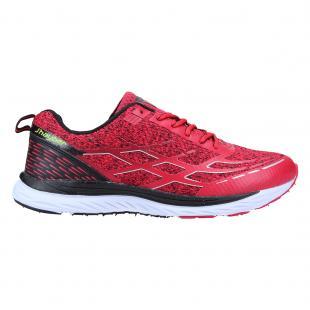 ZA450179-400 Zapatillas Running Hombre Razado Rojo