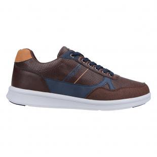 ZA581691-56 Zapatillas de hombre chalo marrón oscuro