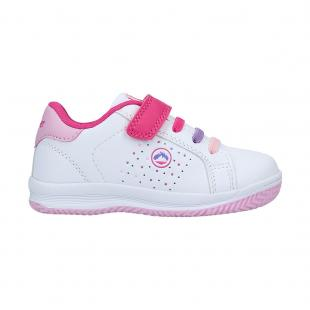 Classic Kids Colete White - Pink