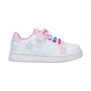 Casual Kids Chocante White - Pink