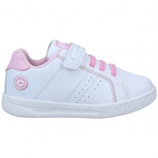ZN460125-108 Zapatillas de niña Cilina Blanco-Rosa