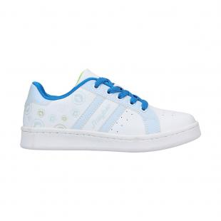 Casual Junior Chiluca White - Blue