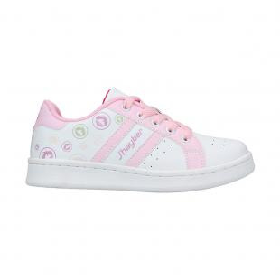 Casual Junior Chiluca White - Pink