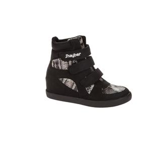 ZN58286-200 Zapatilla deportiva con cuña Chimax negro