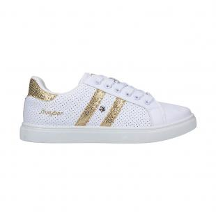 Casual Mujer Chechero White - Gold Sin Estrella