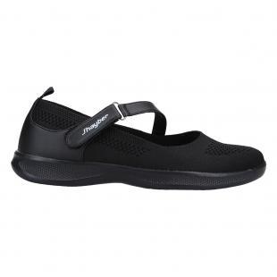 ZS61068-200 Zapatillas de mujer chermosa negro